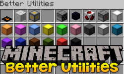 Better Utilities mod for minecraft logo