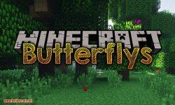 Butterflys mod for minecraft logo