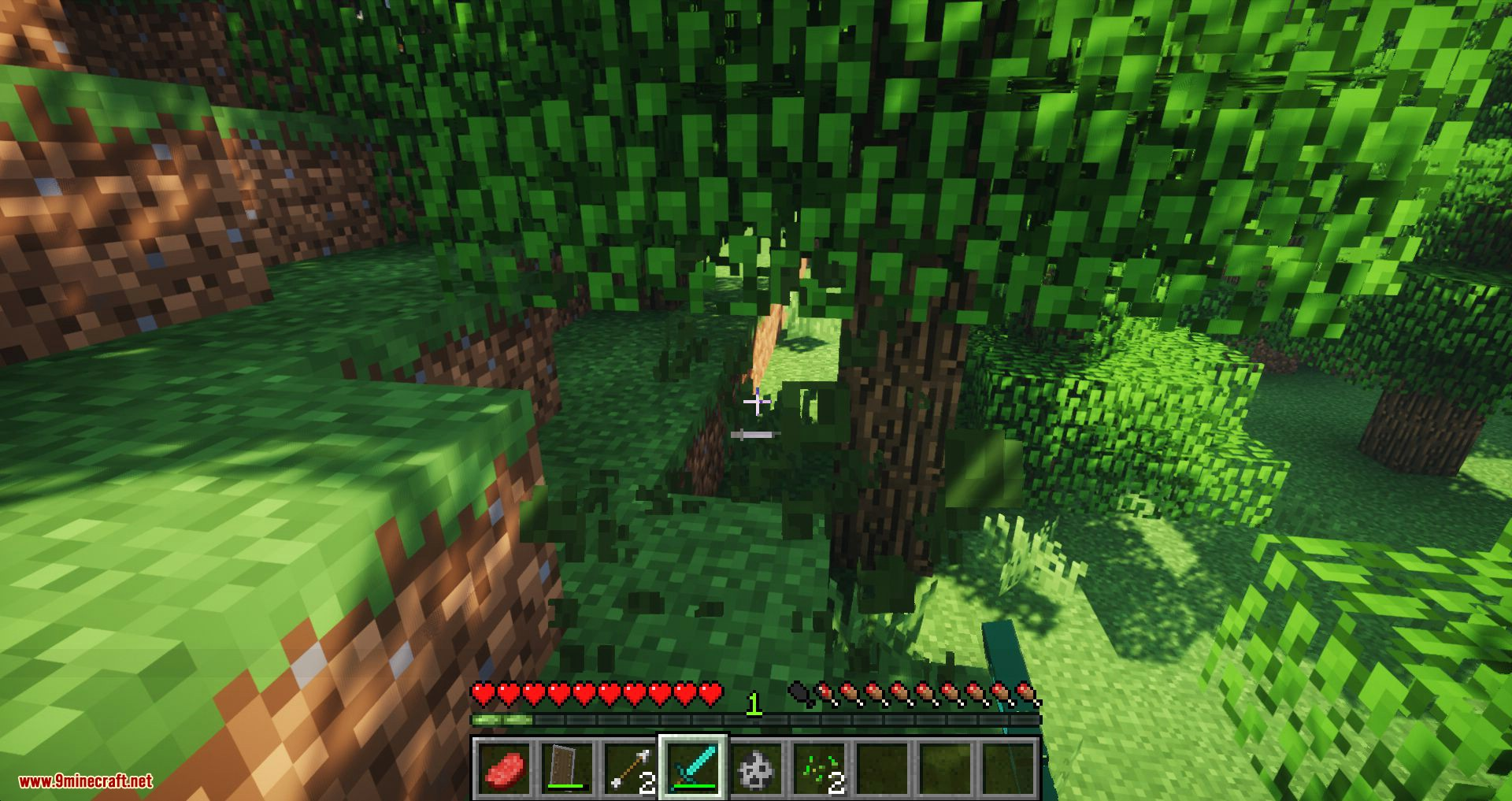 Combat Refined mod for minecraft 05