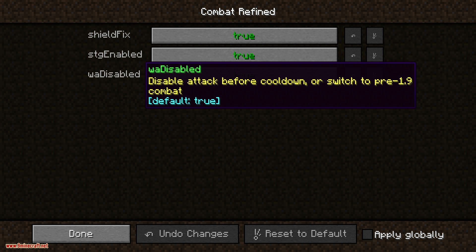 Combat Refined mod for minecraft 09