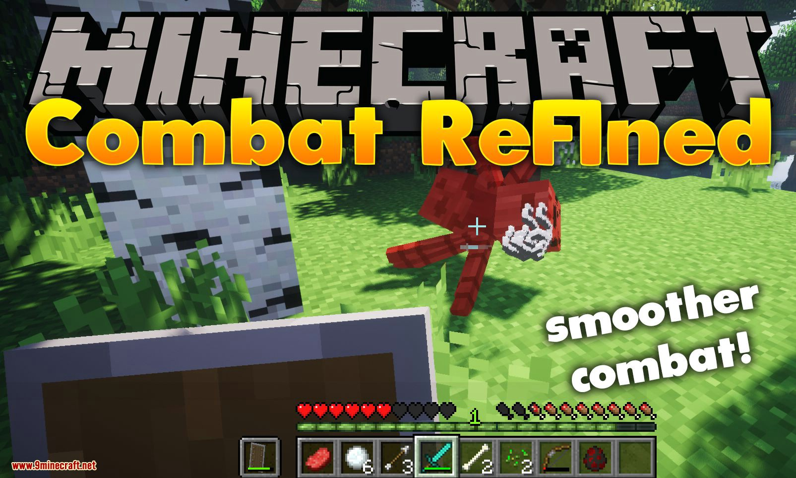 Combat Refined mod for minecraft logo