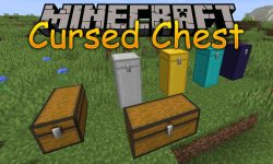 Cursed Chest mod for minecraft logo