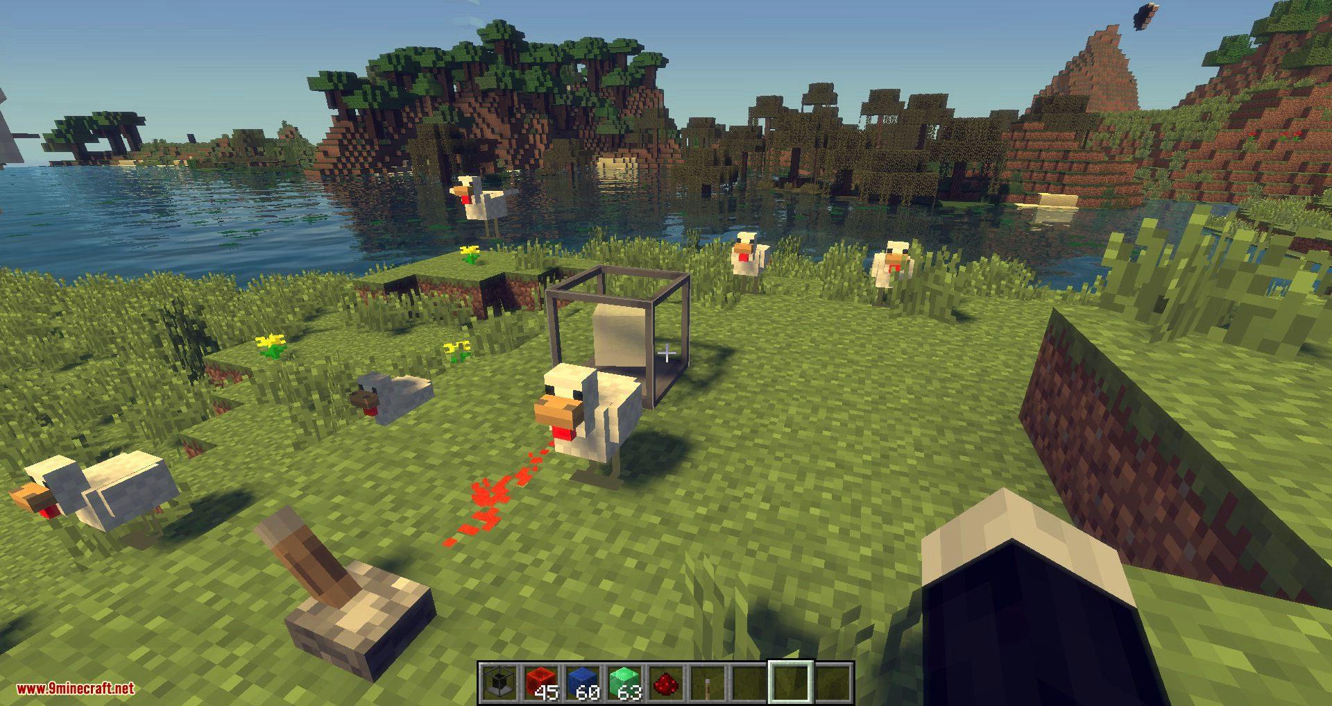 Mod spawn mob minecraft