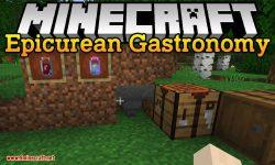 Epicurean Gastronomy mod for minecraft logo