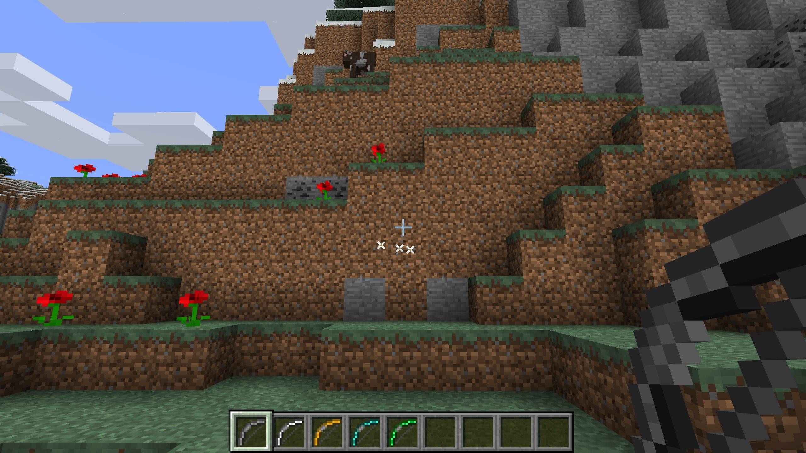 Extra Bows mod for minecraft 25