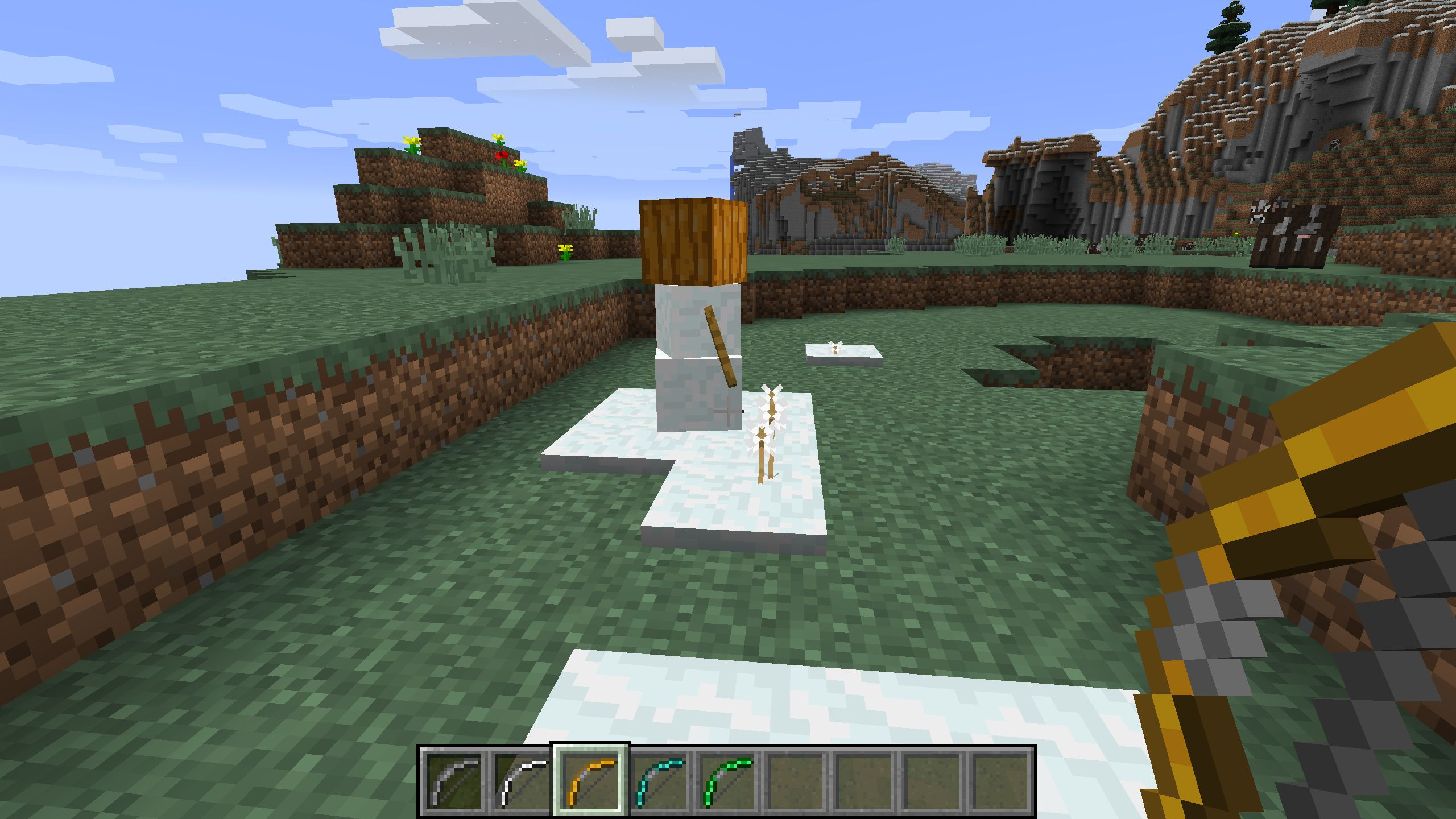 Extra Bows mod for minecraft 26