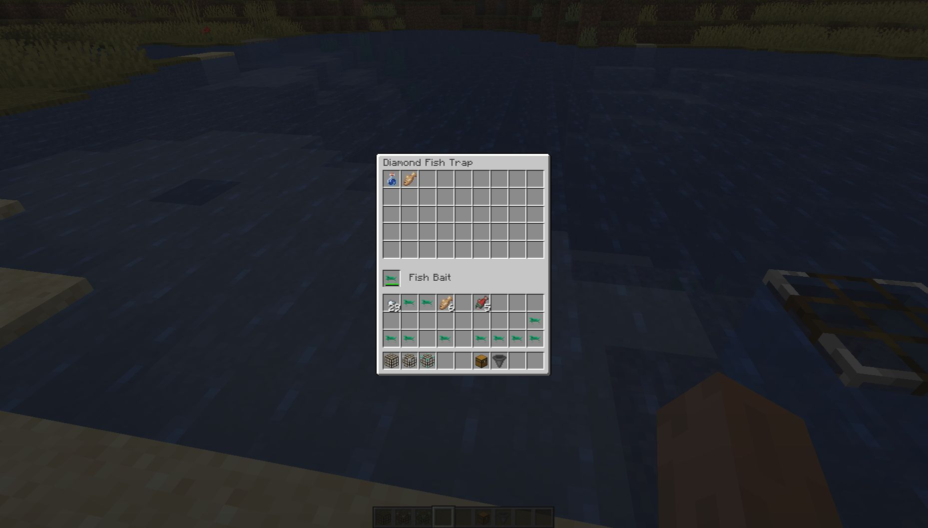 Fish Traps mod for minecraft 28
