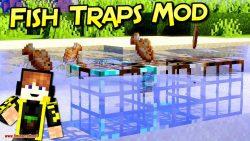 Fish Traps mod for minecraft logo