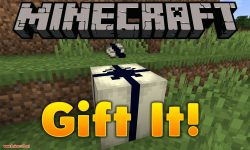 Gift It mod for minecraft logo