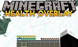 Health Overlay mod for minecraft logo