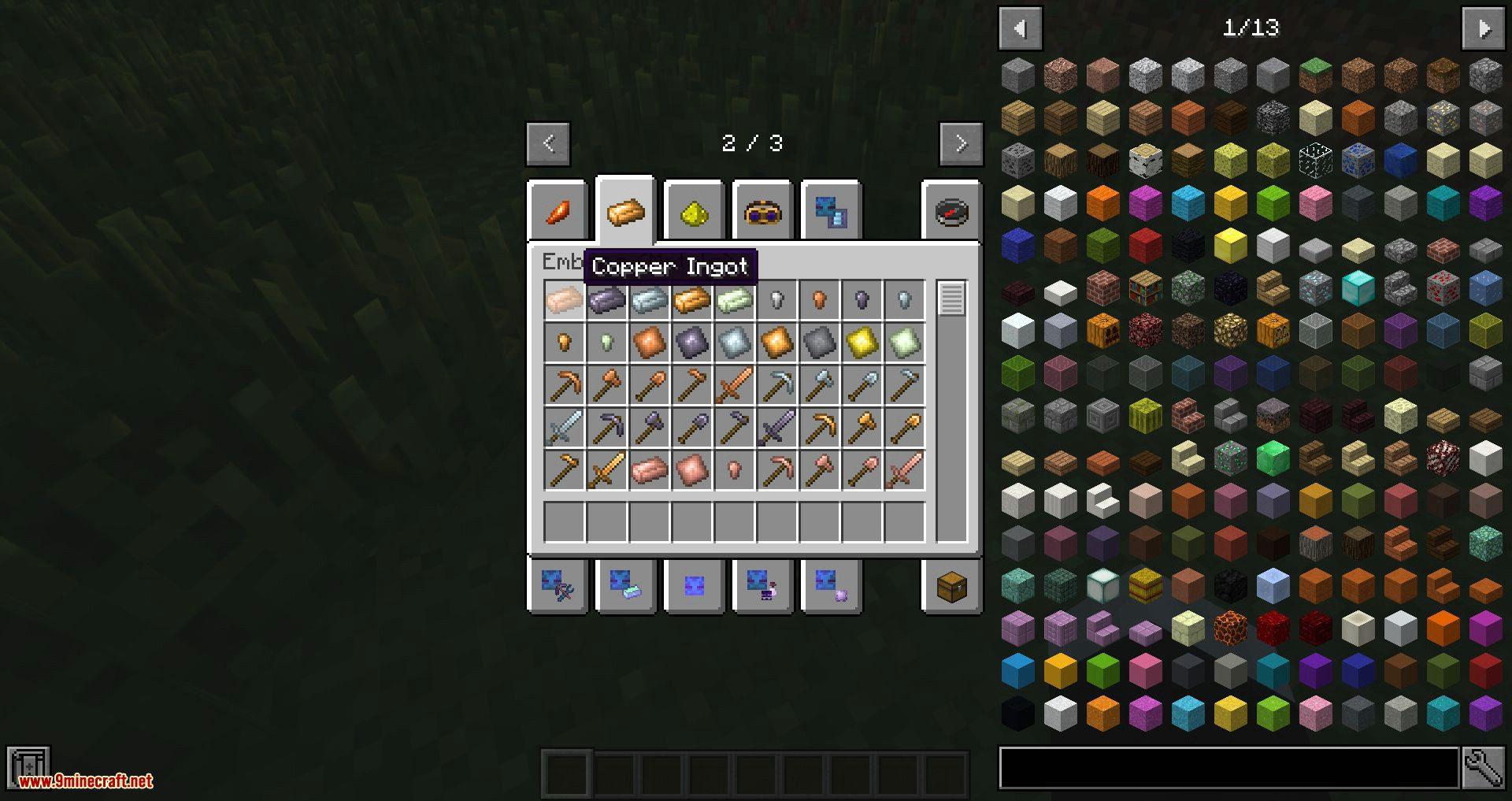 JAOPCA mod for minecraft 01