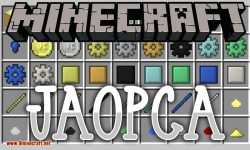 JAOPCA mod for minecraft logo