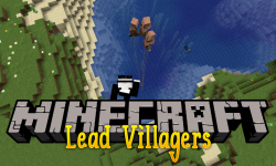 Lead Villagers mod for minecraft logo