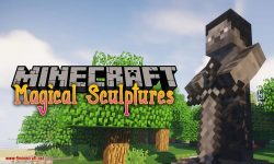 Magical Sculptures mod for minecraft logo