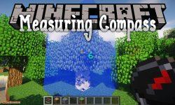 Measuring Compass mod for minecraft logo