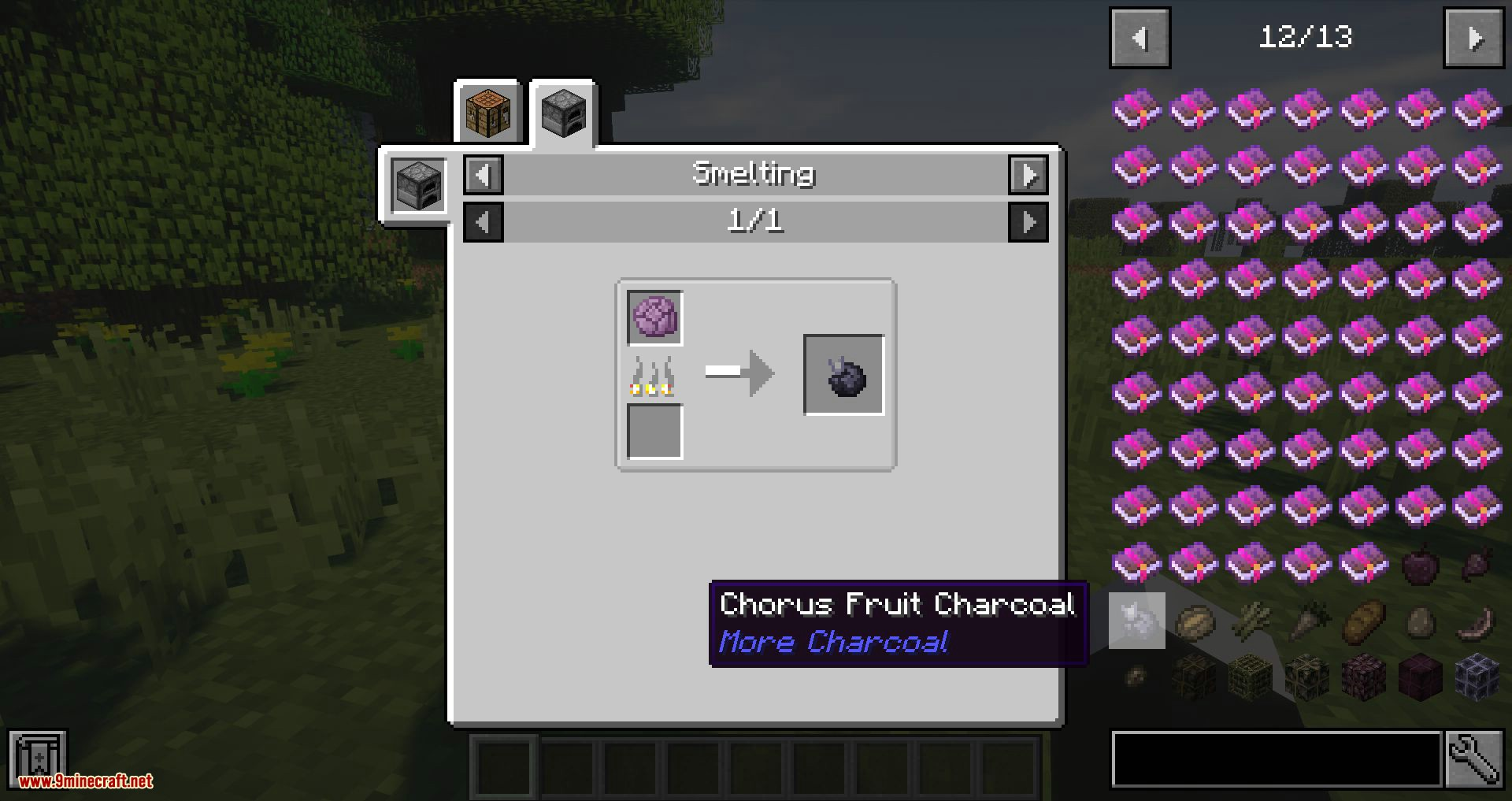 More Charcoal mod for minecraft 03