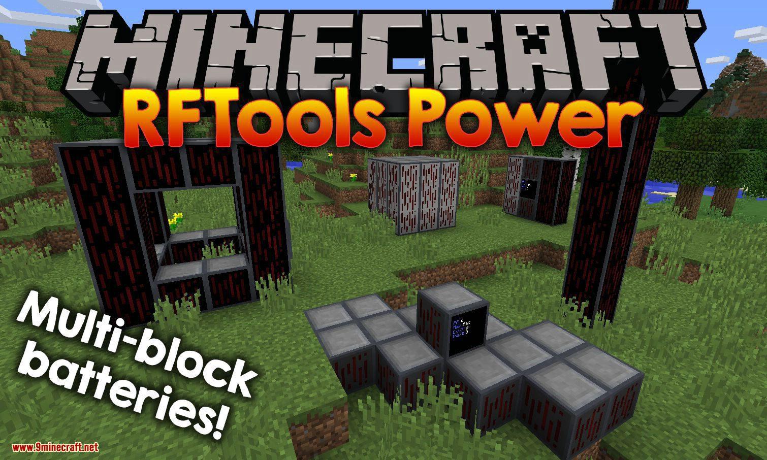 RFTools Power mod for minecraft logo