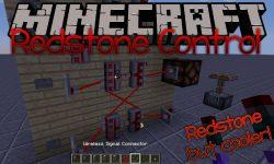 Redstone Control mod for minecraft logo