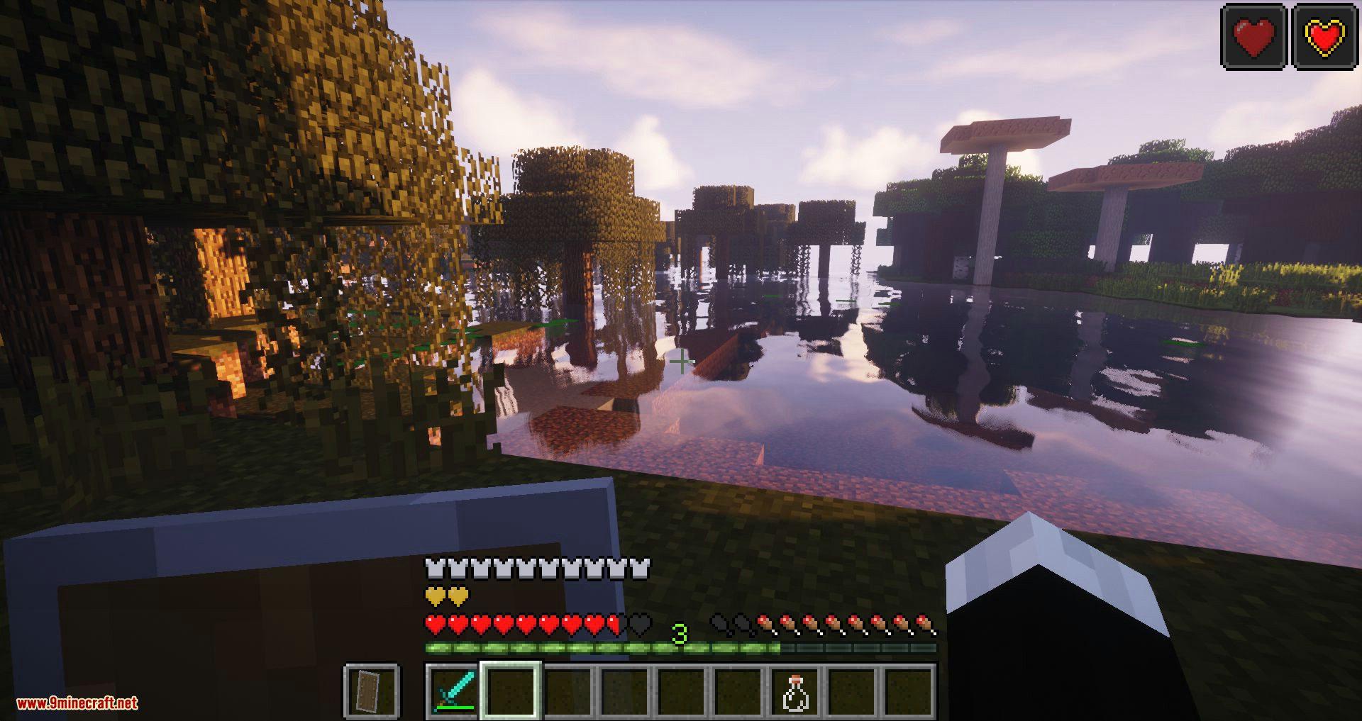 Regen Control mod for minecraft 09