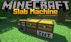 Slab Machine mod for minecraft logo