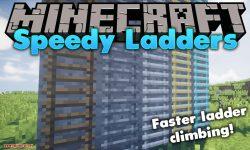 Speedy Ladders mod for minecraft logo