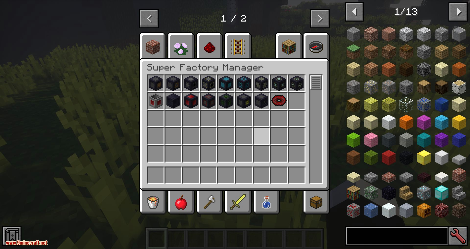 Super Factory Manager mod for minecraft 01