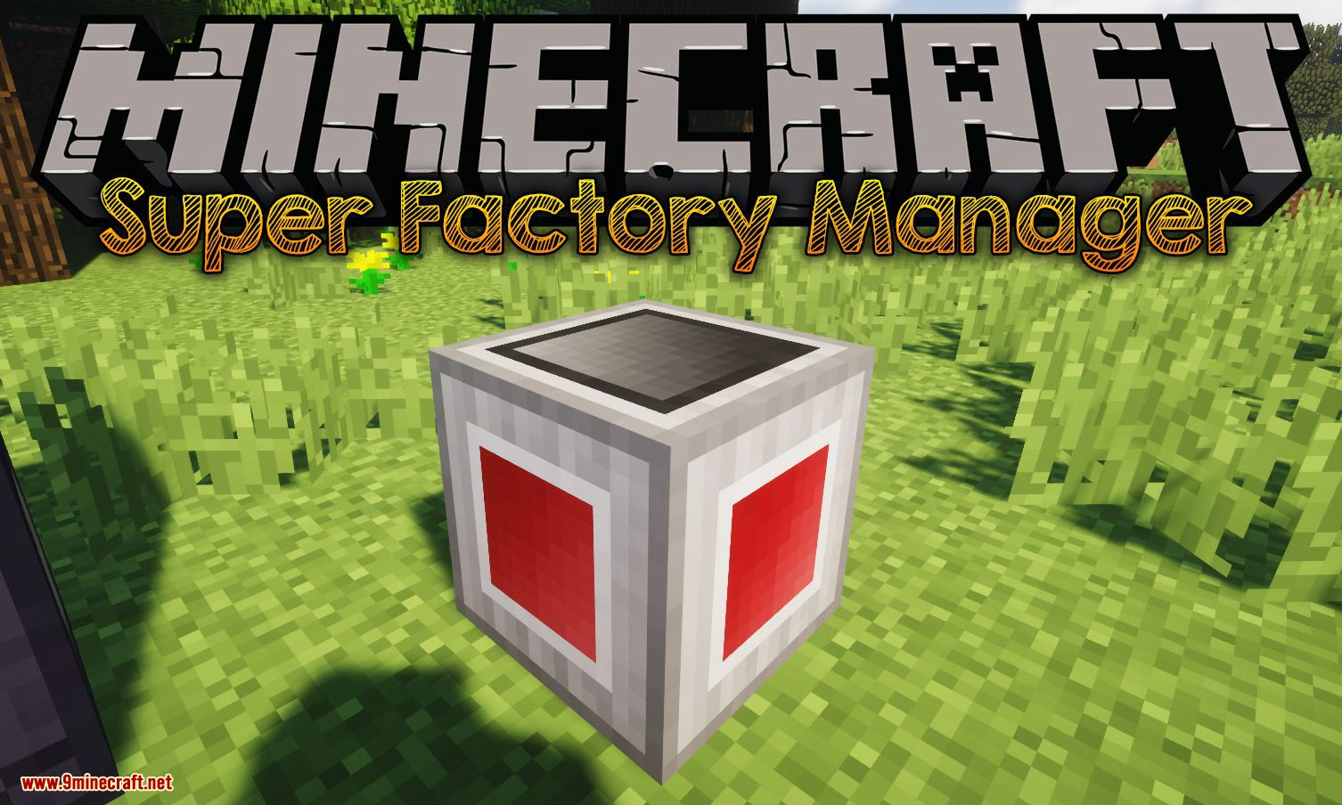 Super Factory Manager mod for minecraft logo