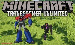 Transformer Unlimited mod for minecraft logo
