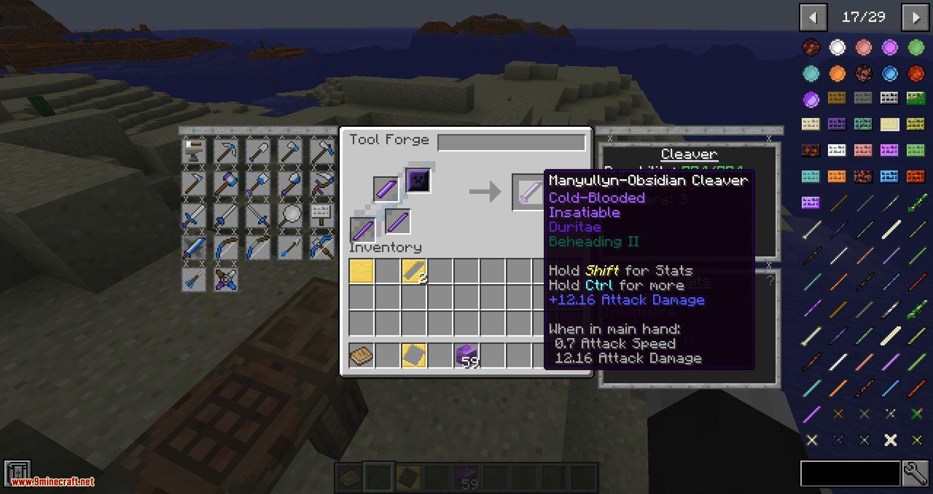 Tweakers Construct mod for minecraft 05