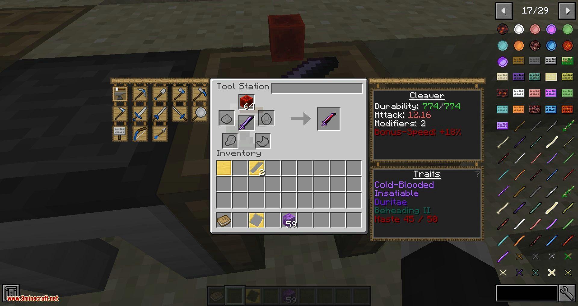 Tweakers Construct mod for minecraft 07