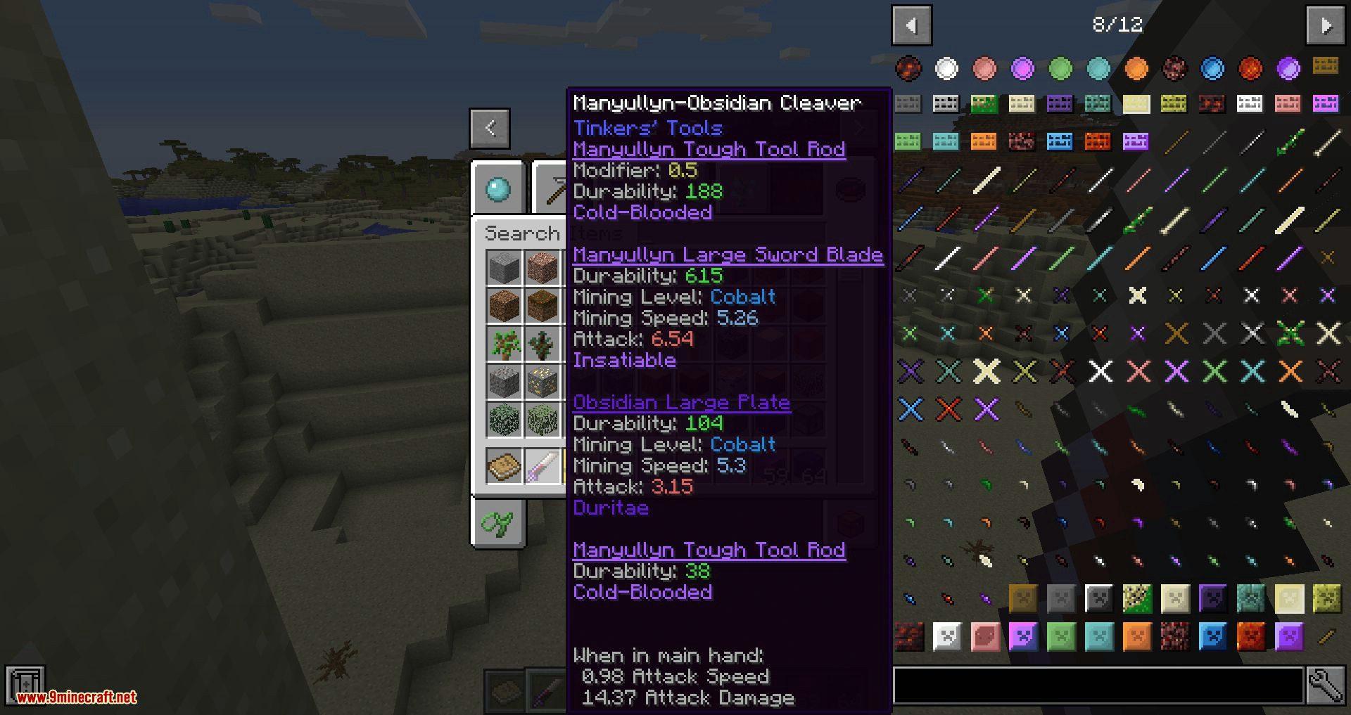 Tweakers Construct mod for minecraft 08