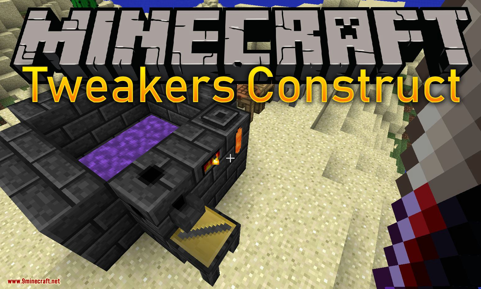Tweakers Construct mod for minecraft logo