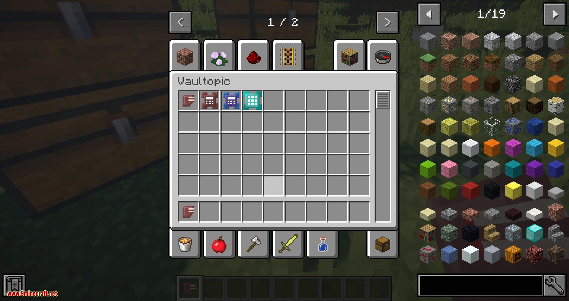 Vaultopic mod for minecraft 04