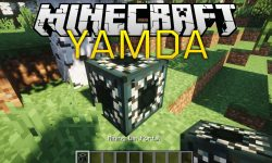 YAMDA mod for minecraft logo
