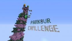 A Parkour Challenge Map Thumbnail