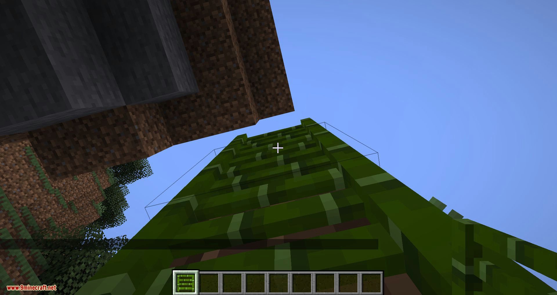 Bamboo Ladders mod for minecraft 02