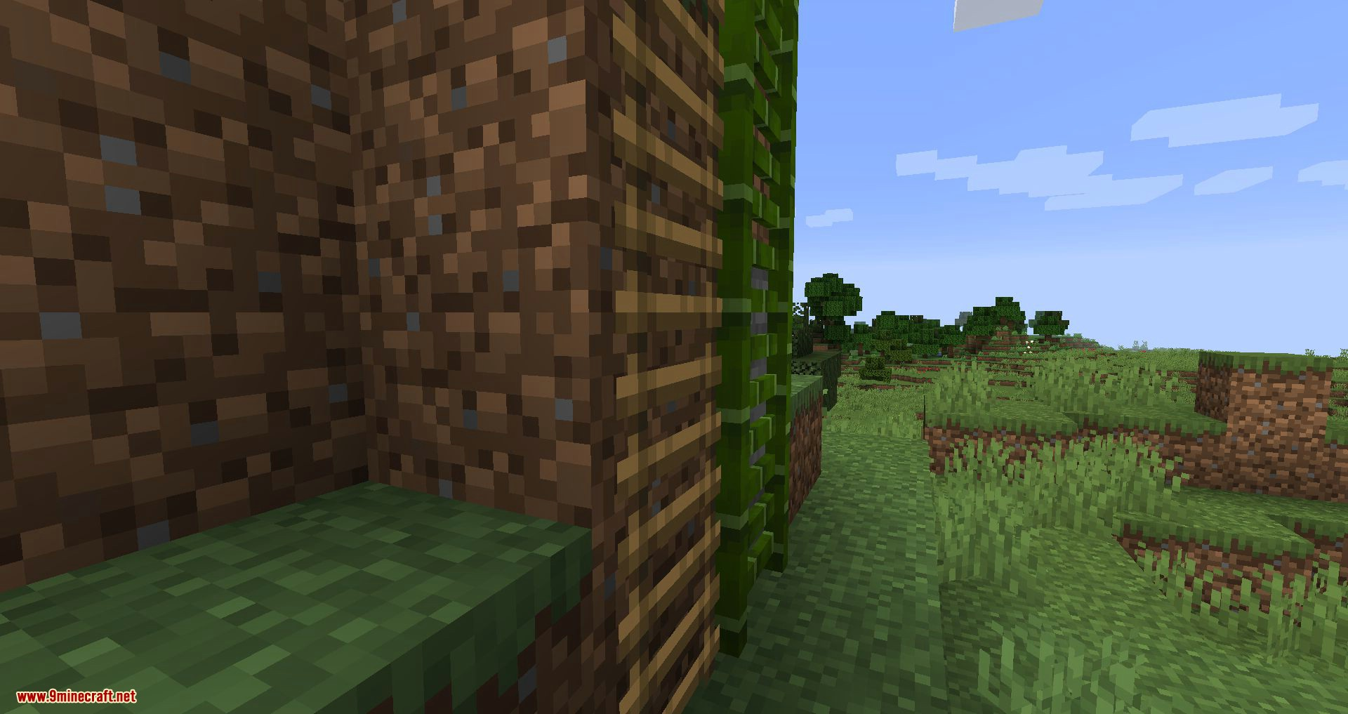 Bamboo Ladders mod for minecraft 04