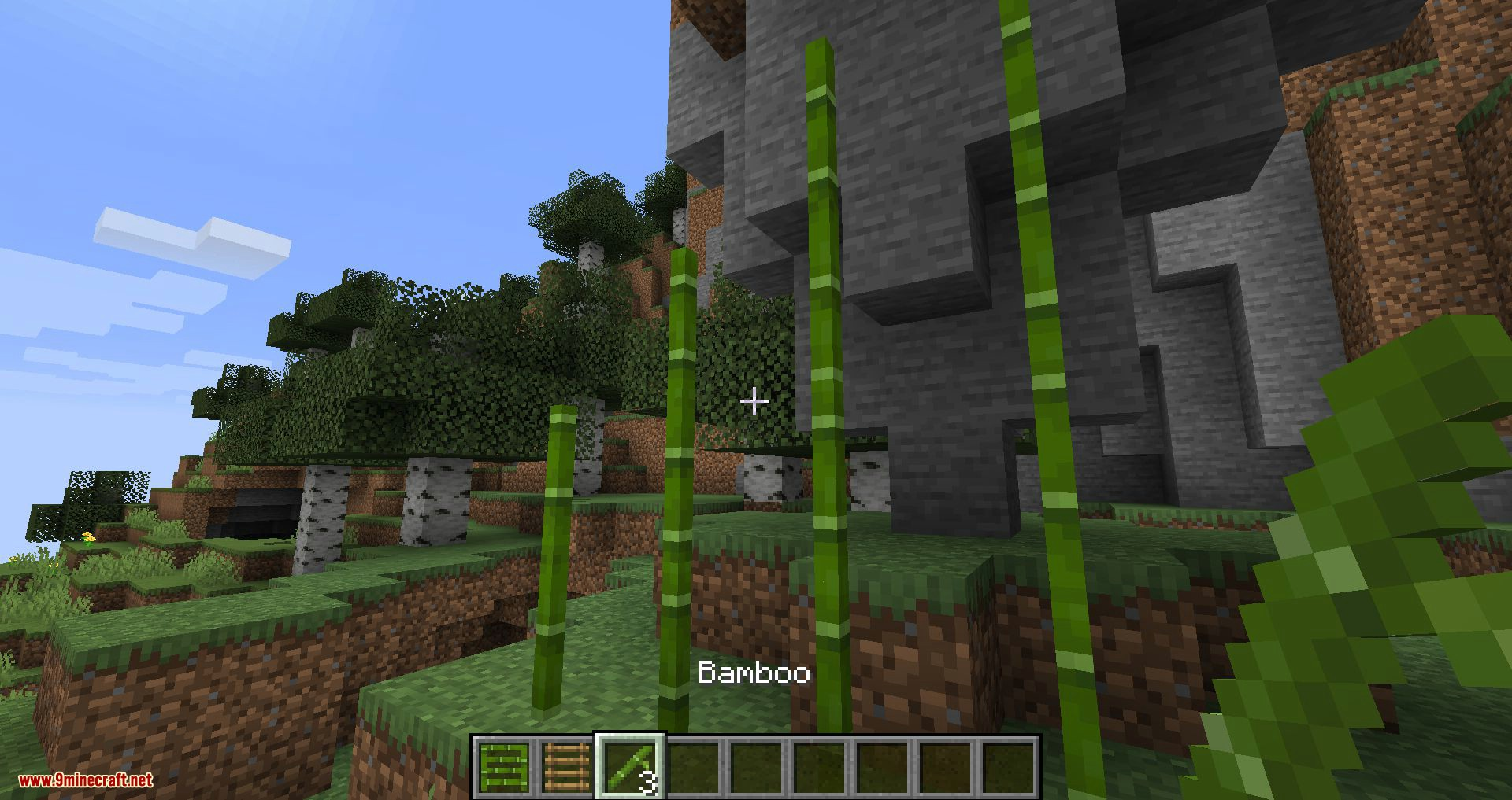 Bamboo Ladders mod for minecraft 05