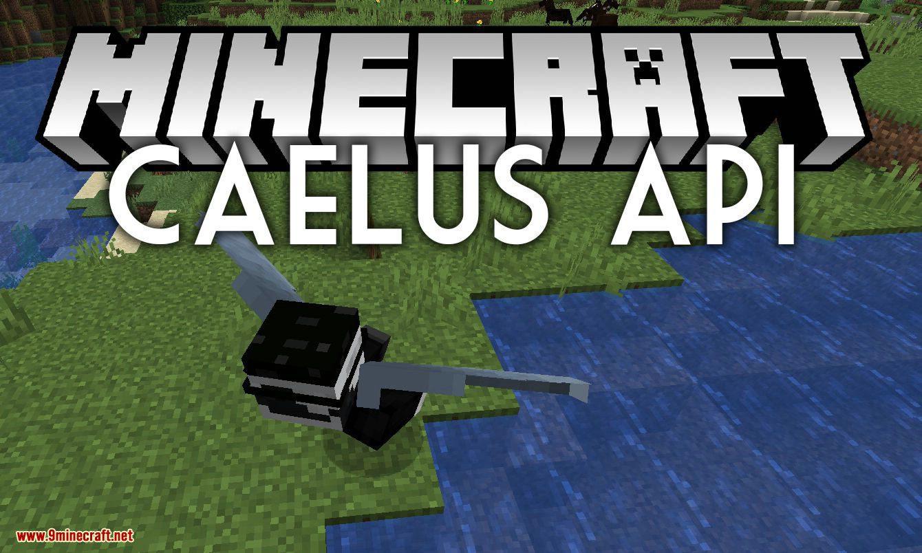 Caelus API mod for minecraft logo