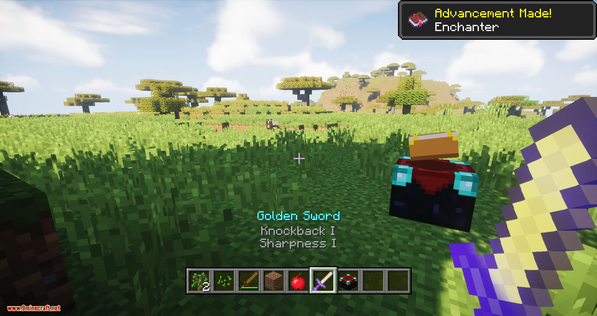 Console HUD mod for minecraft 06