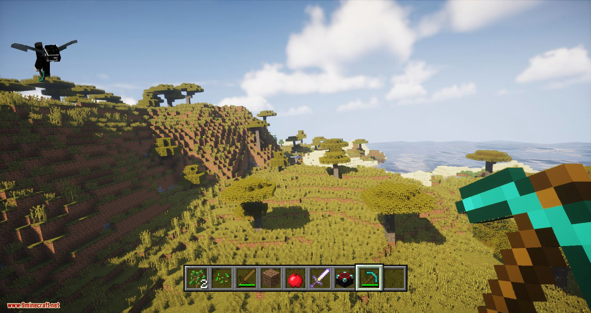 Console HUD mod for minecraft 08