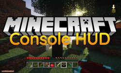 Console HUD mod for minecraft logo
