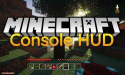 Console HUD mod for minecraft logo