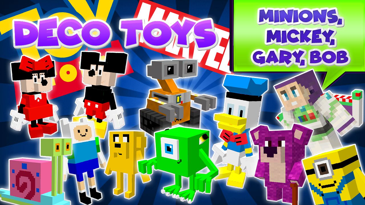 DecoToys mod for minecraft logo 01