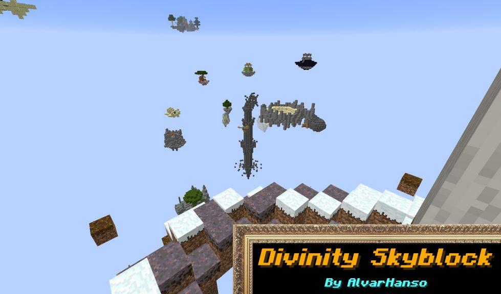 Divinity SkyBlock Map Thumbnail