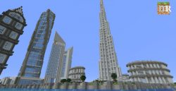 Dubai Landmarks Map Thumbnail