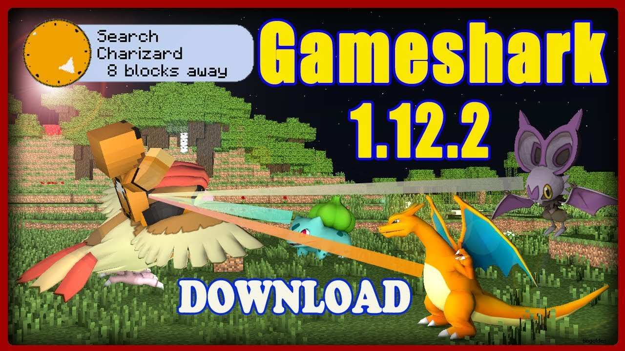 Gameshark Add-on for Pixelmon 1.12.2 (Pokemon Radar) - By default, Gameshark will alert the player if any of the following are found within 150 blocks of the player: - Free Cheats for Games