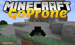 GoProne mod for minecraft logo