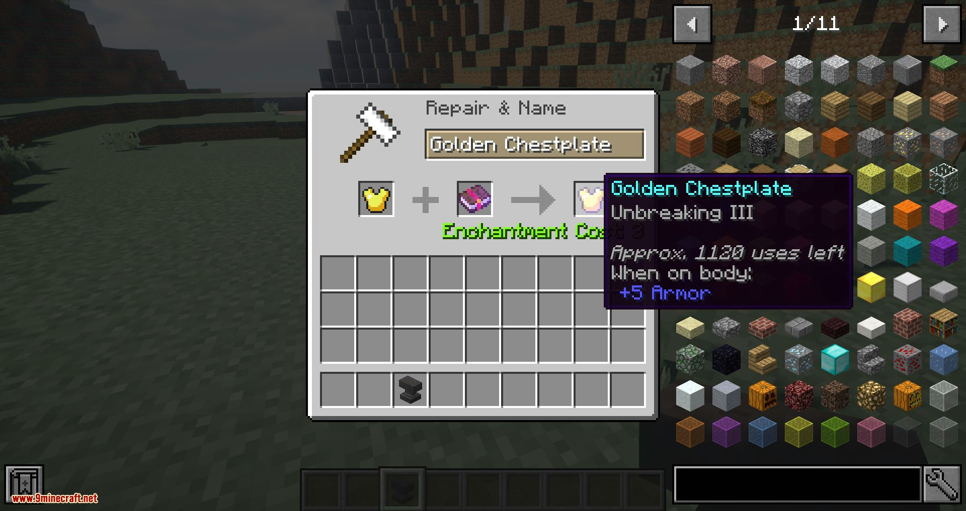 Items Dont Break mod for minecraft 03