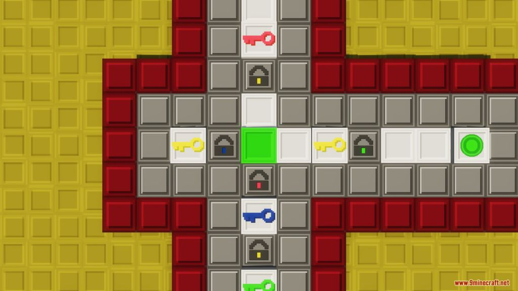 Locked in Minecraft Map Screenshots (5)